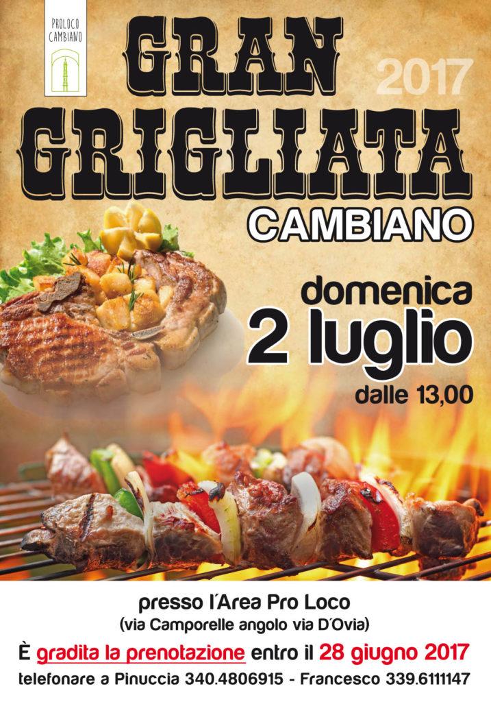 Grigliata Cambiano 2017