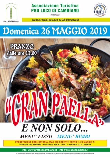 Gran Paella 70x100