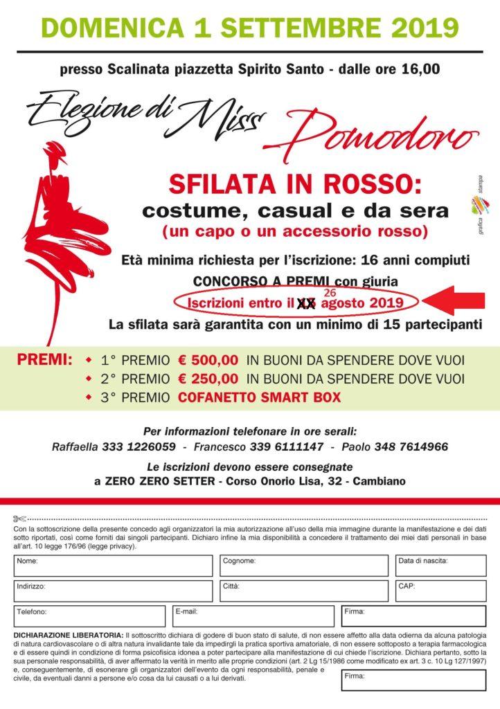 Miss Pomodoro A5 2019-2
