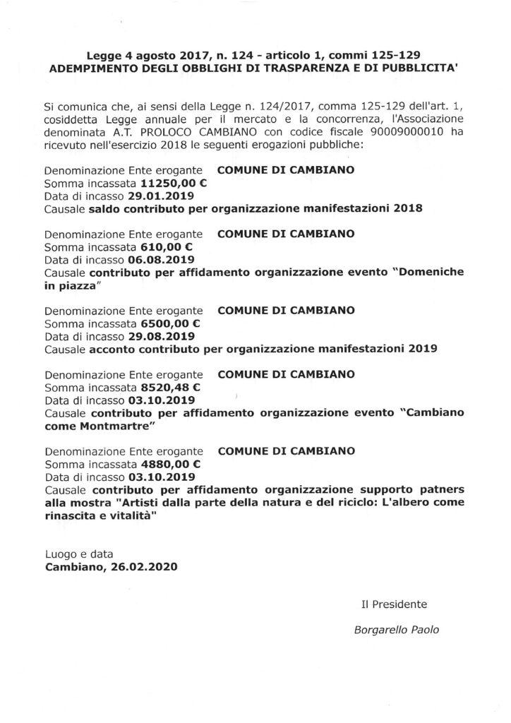 2019 legge 4 agosto 2017